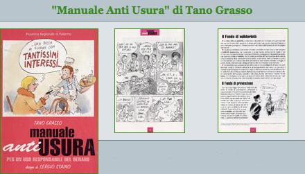 Manuale antiusura - Di Tano Grasso